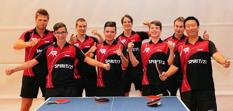 Das Team Herren 1 des DJK Sportbund Stuttgart | Foto: DJK