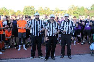 Auch die Schiedsrichter wurden wieder geehrt (Foto: Arrows)