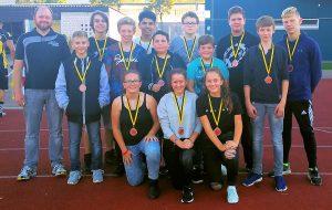Das Jugendteam der Arrows konnte immerhin einen Sieg erringen und sich den 3. Platz sichern (Foto: Arrows)