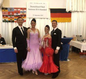 Die Tanzpaare Rommel und Klein des TSZ Stuttgart | Foto: TSZ Stuttgart