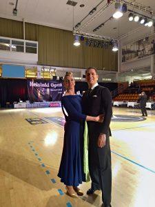 Sven und Ramona Spengemann beim Int. Helsinki Dancesport Festival | Foto: Ramona Spengemann