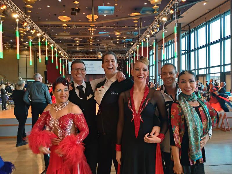 Die Teilnehmer des TSZ Feuerbach bei den Saxonian Dance Classics | Foto: TSZ Feuerbach