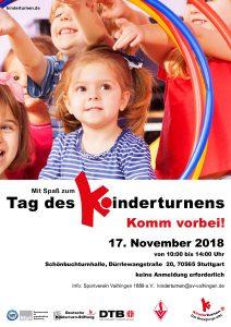 Flyer des Tag des Kinderturnens beim SV Vaihingen | Foto: SV Vaihingen