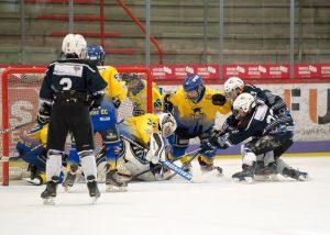 Der Nachwuchs des Stuttgarter Eishockey-Clubs beim Spiel | Foto: Mario Vrban / Stuttgarter Eishockey-Club e.V.