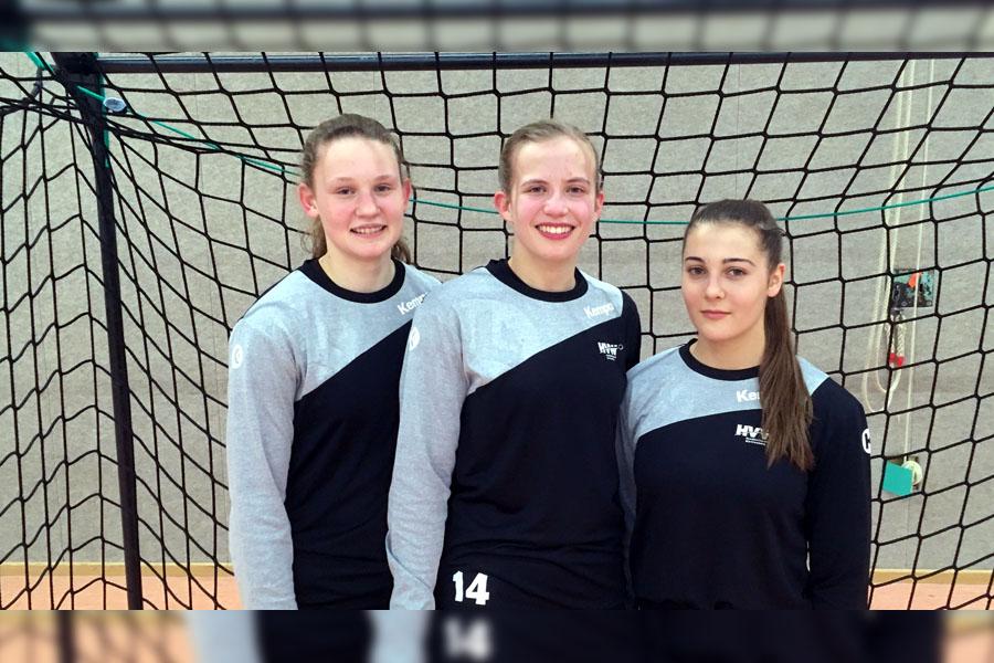 Drei Mädels der Hbi haben den Sprung ins All-Star-Team geschafft | Foto: Hbi