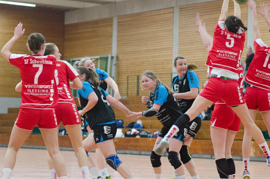 Die Damen der Hbi Weilimdorf/Feuerbach gewinnen knapp gegen den SF Schwaikheim | Foto: Hbi