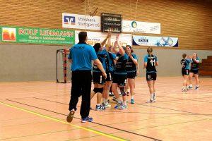 Bezirksliga Damen: Hbi vs SC Korb - Szene aus dem Hinspiel | Foto: Hbi