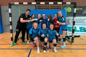 Das Team der weiblichen B-Jugend der Hbi beim ALWA-Cup 2019   Foto: Hbi