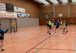 Die weibliche C-Jugend bei der Bezirksliga-Qualifikation   Foto: Hbi