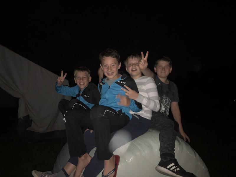 Die männliche D2-Jugend der Hbi nachtaktiv in Oppenweiler | Foto: Hbi