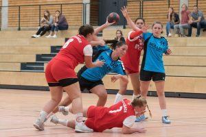 Szene aus dem Spiel der weibl. A-Jugend der Hbi gegen SV Fellbach | Foto: Hbi