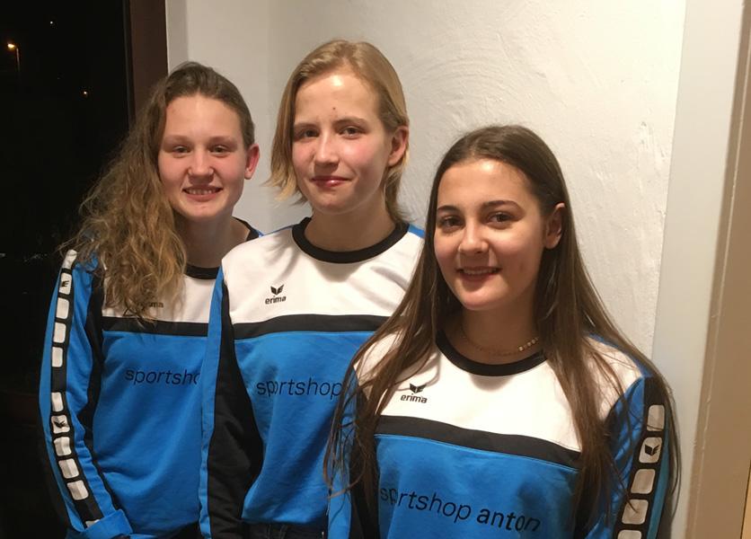 3 Hbi'lerinnen haben sich für den Auswahlkader des Verband Württembergs empfohlen | Foto: Hbi