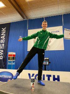 Siegerehrung Hellenstein-Cup mit Turniersieger Marc Heuer | Foto: TSF Ditzingen