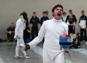 Alexander Kaltsamis bei den Nordbaden-Württembergischen Landesmeisterschaften | Foto: Axel Grundler