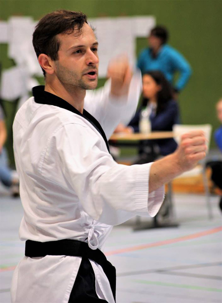 Fabian Frank vom TKD Center Stuttgart | Foto: TKD Center