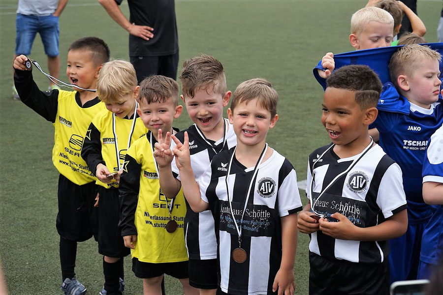 Die Bambinis beim 21. Internationaler Klinsmann-Cup | Foto: ASV Botnang