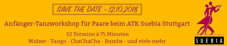 Anfänger-Tanzworkshop beim ATK Suebia Stuttgart