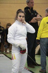 "Archivbild: Anja Händler (TSF Ditzingen; GER) beim ""Kneipp Cup"" in Heidenheim; U17-Europacup (""Cadet Circuit"") Damendegen | Foto: TSF Ditzingen"