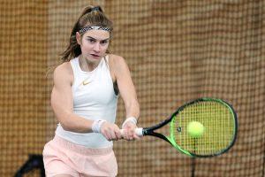 Deutsche Vizemeisterin: Valentina Steiner kann trotz der Finalniederlage auf eine tolle Turnierwoche in Ludwigshafen zurückblicken | Foto Baumann