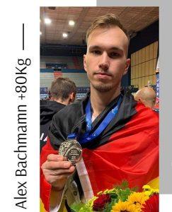 Alexander Bachmann ist neuer Vize-Europameister   Foto: TKD-Center