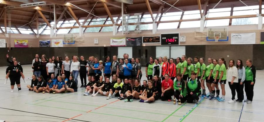 Die Damen der HSV Stammheim/Zuffenhausen beim Turnier in Gundelsheim | Fotzo: HSV