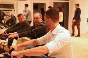 Martin Maixner (Vorsitzender Sportkreisjugend), Peter Wolfering (1. Vorsitzender StCRC), Michael Bulach (Geschäftsführer Sportkreisjugend) | Foto: StCRC
