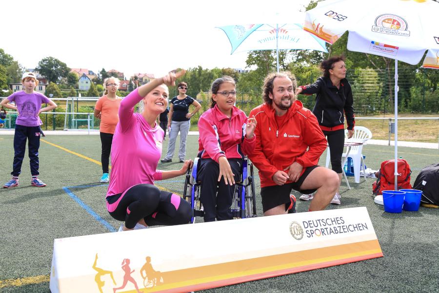 Sportabzeichen-Tour stärkt Inklusion | Foto: DOSB/Treudis Naß