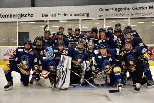 Mannschaftsfoto des Stuttgarter EC der Saison 2017/18 | Foto: Stuttgarter EC