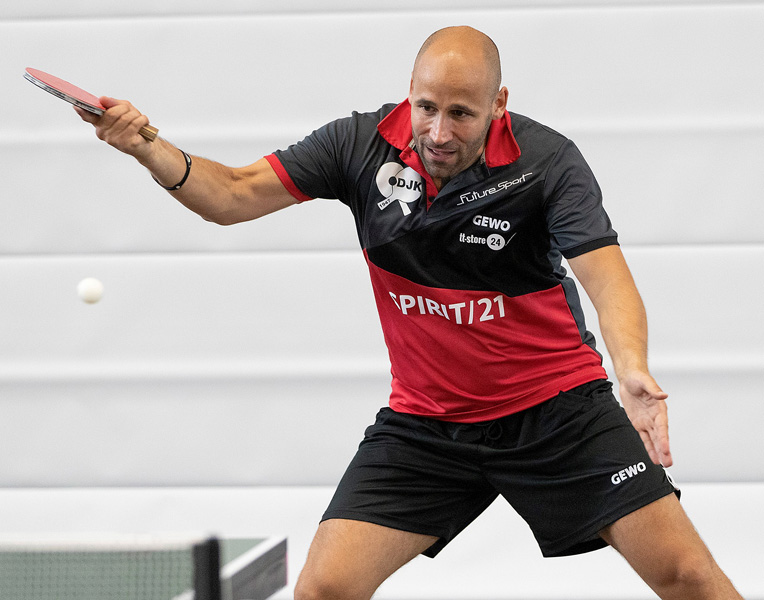 Dauud Cheaib - der Matchwinner der Partie | Foto: Volker Arnold