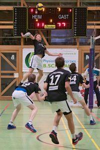 Dirk Mehlberg beim Angriff | Foto: ASV