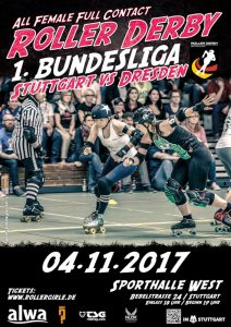 Stuttgart Valley Rollergirls vs Dresden Pioneers (Bild: Rollergirls)