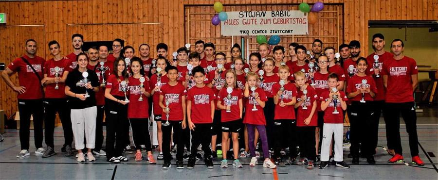 Der TKD Center Stuttgart bei den Baden-Württembergischen Einzelmeisterschaften | Foto: TKD Center
