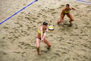 Beachvolleyball-Team Chantal Laboureur und Julia Sude (Foto: fivb.org)