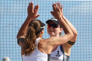 Das Stuttgarter Beachvolleyball-Team Chantal Laboureur/Julia Sude beim Turnier in Ft. Lauderdale | Foto: FIVB