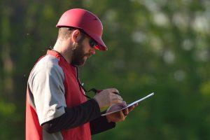 Greg Lemon, der Head Coach der Stuttgart Reds | Foto: Iris Drobny