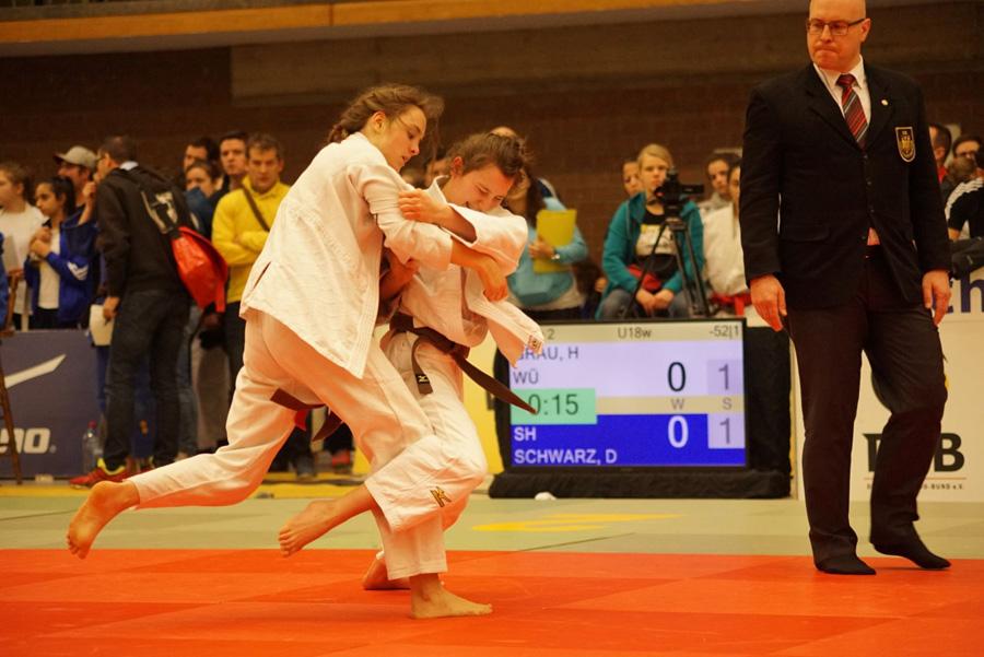 Helena Grau vom TSG Backnang hat bei der U21 Deutschen Meisterschaft im Judo 2018 den 3. Platz erreicht | Foto: wjv