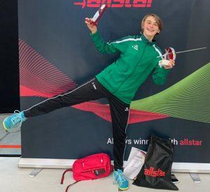 Annika Amler ist Siegerin der Allstar Deutschland Challenge   Foto: TSF