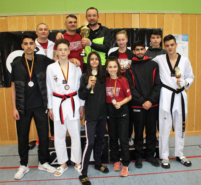Das Team des TKD bei den Deutschen Meisterschaften | Foto: TKD