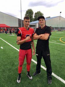 Der ehemalige Scorpions-Spieler Marko Vidackovic - jetzt im US College-Football zuhause | Foto: Scorpions