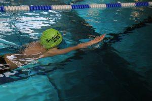 Eindrücke des 45. Int. SWE Schwimmfest in Freiberg   Foto: Anika Jessel