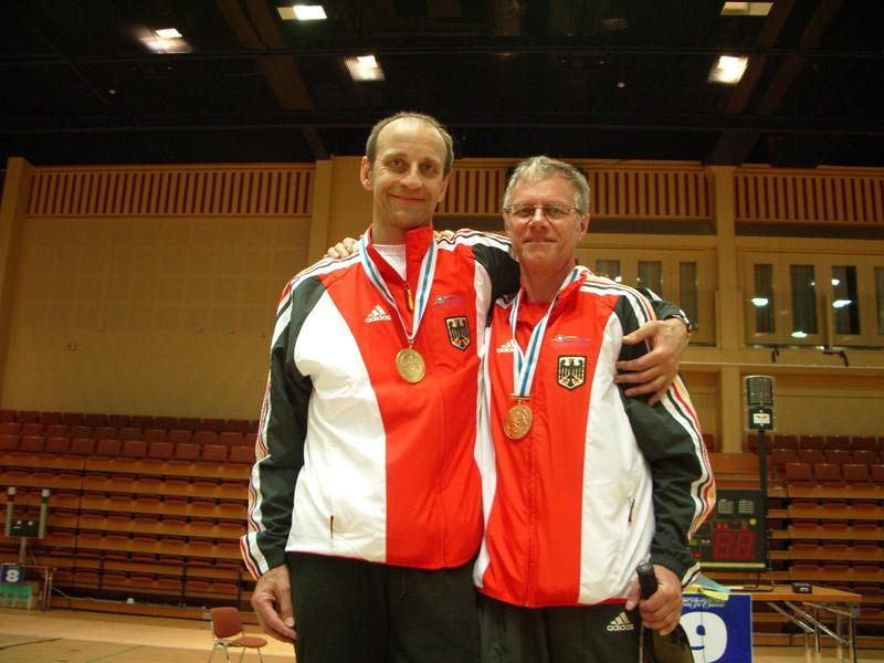 Igor Borrmann (li.) und Bruno Kachur (re.) | Foto: TSF Ditzingen
