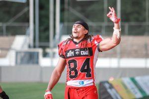 Archivfoto: Ex-Scorpions-Spieler Jakob Johnson, jetzt in der NFL | Foto: Sarah Philipp