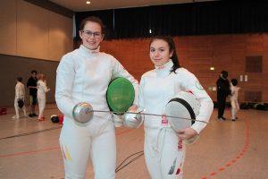 Kerstin Greul (links) und Anja Händler (rechts) vom TSF Ditzingen (Foto: TSF)