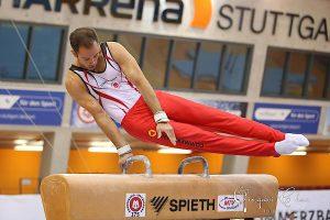 Mannschaftskapitän Sebastian Krimmer, der wieder in das Wettkampfgeschehen eingreifen konnte | Foto: Dr. Qingwei Chen