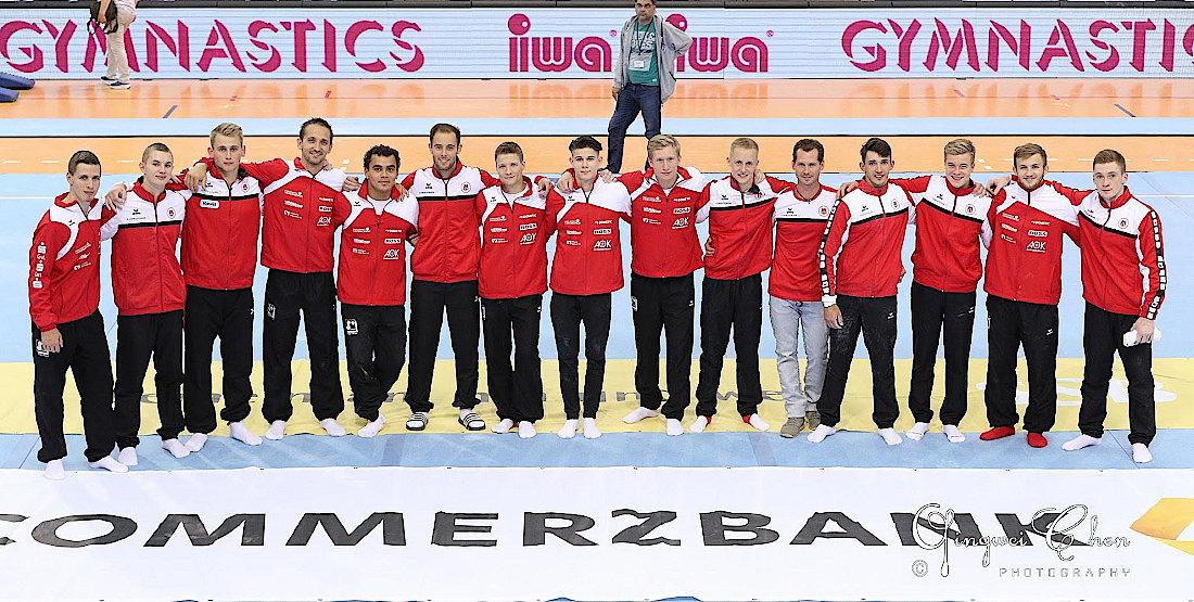 Das Team des MTV Stuttgart und des Siegerländer KV | Foto: Dr. Qingwei Chen