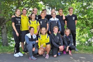Jugendteams A, B, C und offen mit Trainer Marius Müller (Foto: TBC)
