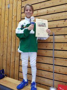 Matteo Zucchini erkämpft sich die Silbermedaille beim 40. Maikäfer Cup in Füssen | Foto: TSF