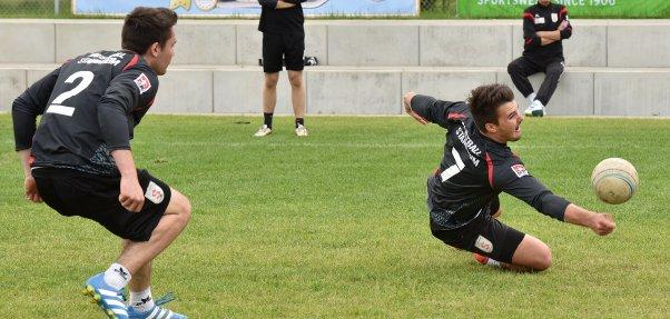 Maximilian und Christian Gayer am letzten Saisonspieltag für die Stammheimer Herren I | Foto: TVS / Frank Weller