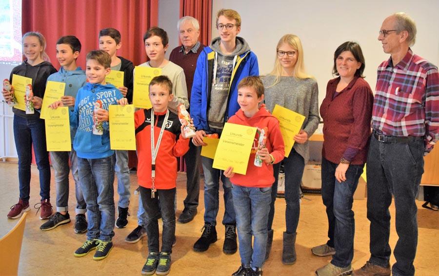 Die Mehrkampfmeister der Sportvg Feuerbach | Foto: Sportvg