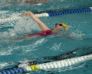 Nachwuchsschwimmerin Ena Maric beim 6. Moikäfer Cup (Foto:TBC)